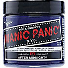 Manic Panic Semi-Permanent Hair Color Cream in After Midnight Blue
