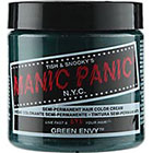 Manic Panic Semi-Permanent Hair Color Cream in Green Envy