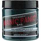 Manic Panic Semi-Permanent Hair Color Cream in Green Envy
