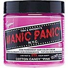 Manic Panic Semi-Permanent Hair Color Cream in Cotton Candy Pink