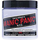 Manic Panic Semi-Permanent Hair Color Cream in Virgin Snow