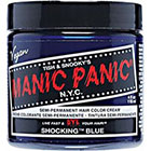 Manic Panic Semi-Permanent Hair Color Cream in Shocking Blue