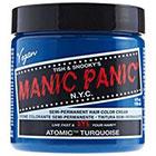 Manic Panic Semi-Permanent Hair Color Cream in Atomic Turquoise