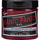 Manic Panic Semi-Permanent Hair Color Cream in Rock N Roll Red