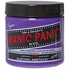 Manic Panic Semi-Permanent Hair Color Cream in Electric Amethyst