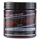 Manic Panic Semi-Permanent Hair Color Cream in Violet Night