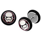 Disney Disney Episode 7 First Order Trooper Screw Back Earrings