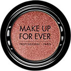 Make Up For Ever Artist Shadow Eyeshadow and powder blush in D750 Frosted Peach (Diamond) powder blu