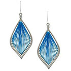 Target Double Layered Dreamcatcher Earring with Threading - Blue