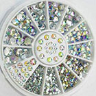 Amazon Great Mixed Diy Size 'Glitter' Rhinestones Charm 3D Nail Art Decor Accessories in