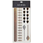 GUESS Leaf Metallic Temporary Tattoo in multi