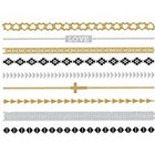 Tilly's Metallic Band Temporary Tattoos in Multi
