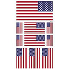 Amazon.com Supperb American Flag Temporary Tattoo Kit, USA Flag Temporary Tattoos, 10 Tattoos