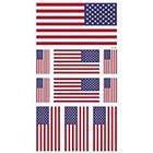 Amazon.com Supperb American Flag Temporary Tattoo Kit, USA Flag Temporary Tattoos, 10 Tattoos