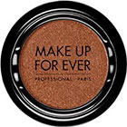 Make Up For Ever Artist Shadow Eyeshadow and powder blush in ME728 Copper Red (Metallic) eyeshadow