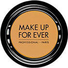 Make Up For Ever Artist Shadow Eyeshadow and powder blush in M408 Mustard (Matte) eyeshadow