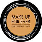 Make Up For Ever Artist Shadow Eyeshadow and powder blush in M408 Mustard (Matte) eyeshadow