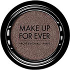 Make Up For Ever Artist Shadow Eyeshadow and powder blush in ME554 Gunmetal (Metallic) eyeshadow