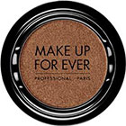 Make Up For Ever Artist Shadow Eyeshadow and powder blush in ME658 Golden Brown (Metallic) eyeshadow