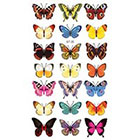 Amazon.com Supperb Temporary Tattoos - 21 Butterflies