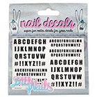 DIY Nails DIY Nails 'Alphabet' Nail Decals Exclusive)