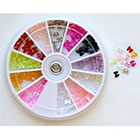 Amazon Bow Bows Pearl Nail Art Stone Wheel Rhinestones Beads