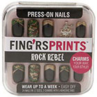 Fing'rs Fing'rs Prints Press-on Nails 1.0set in Rock Rebel - Cameo Appearance