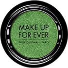 Make Up For Ever Artist Shadow Eyeshadow and powder blush in D334 Apple Green (Diamond) eyeshadow