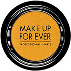 Make Up For Ever Artist Shadow Eyeshadow and powder blush in ME400 Buttercup (Metallic) eyeshadow