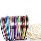 Beaute Galleria Beaute Galleria - 30 pcs Mixed Colors Rolls Striping Tape