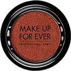 Make Up For Ever Artist Shadow Eyeshadow and powder blush in ME740 Magma (Metallic) eyeshadow