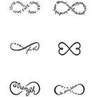 Tattify TATTIFY 'Chin Up' Temporary Tattoos