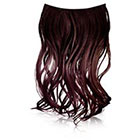 Ken Paves 16 Inch Ombre Extension in Black Plum