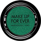 Make Up For Ever Artist Shadow Eyeshadow and powder blush in ME304 Emerald (Metallic) eyeshadow