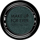 Make Up For Ever Artist Shadow Eyeshadow and powder blush in I300 Pine Green (Iridescent) eyeshadow
