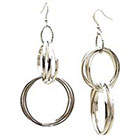 Target Fashion Drop Earrings - Silver