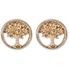 Target Tree of Life Post Earring - Gold