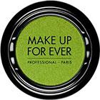 Make Up For Ever Artist Shadow Eyeshadow and powder blush in S336 Lime (Satin) eyeshadow