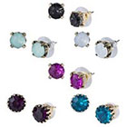 Target 6 Piece Assorted Stud Earrings Set - Multicolor