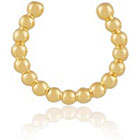 NET-A-PORTER.COM Arme De L'Amour Arme De L'amour Simple Sphere Gold-Plated Nose Ring