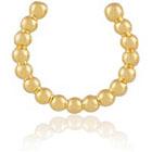 NET-A-PORTER.COM Arme De L'Amour Arme De L'amour Simple Sphere Gold-Plated Nose Ring