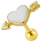Supreme Jewelry Supreme JewelryTM Fashion Earring - Gold/White