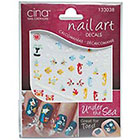 Cina Nail Creations Nail Art 3-D Decals Under The Sea