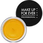 Make Up For Ever Aqua Cream in 24 Yellow matte vibrant yellow
