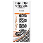 Sally Hansen Salon Effects Nail Stickers 18.0ea in Black to Basic