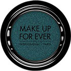 Make Up For Ever Artist Shadow Eyeshadow and powder blush in ME230 Peacock Blue (Metallic) eyeshadow
