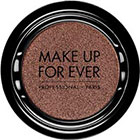 Make Up For Ever Artist Shadow Eyeshadow and powder blush in ME612 Silver Brown (Metallic) eyeshadow