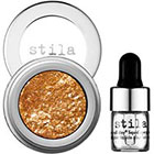 Stila Magnificent Metals Foil Finish Eye Shadow in Comex Gold orange gold sheen