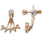 LC Lauren Conrad Spike Ear Jacket Earrings
