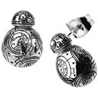 Disney Disney Episode 7 BB8 Lead Hero Droid Polish Stainless Steel 3D Stud Earrings